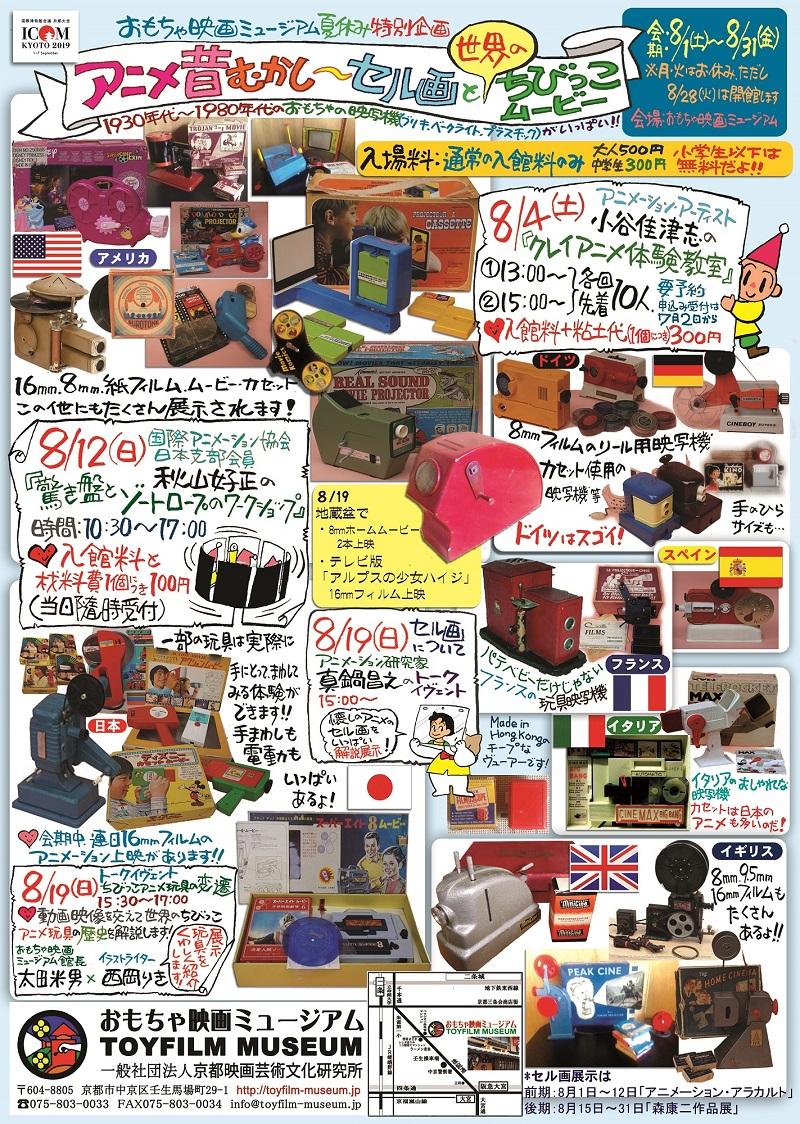 夏休み特別企画「アニメ昔むかし...